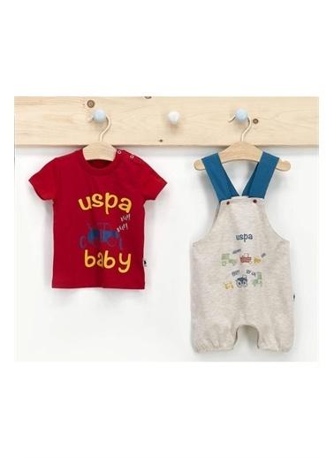 U.S. Polo Assn. U.S. Polo Assn Erkek Bebek 2Li Takım Kahve